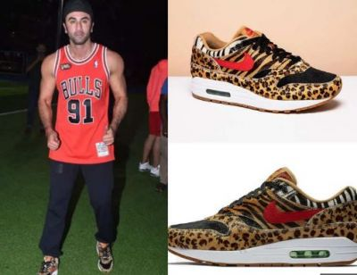 The cost of Ranbir Kapoor's Animal Print shoe might Surprise you!