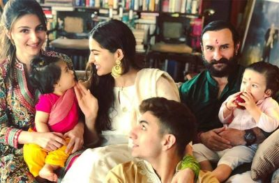 Taimur celebrated Rakhi with Sister Inaya, step-sister Sarah did not come home!