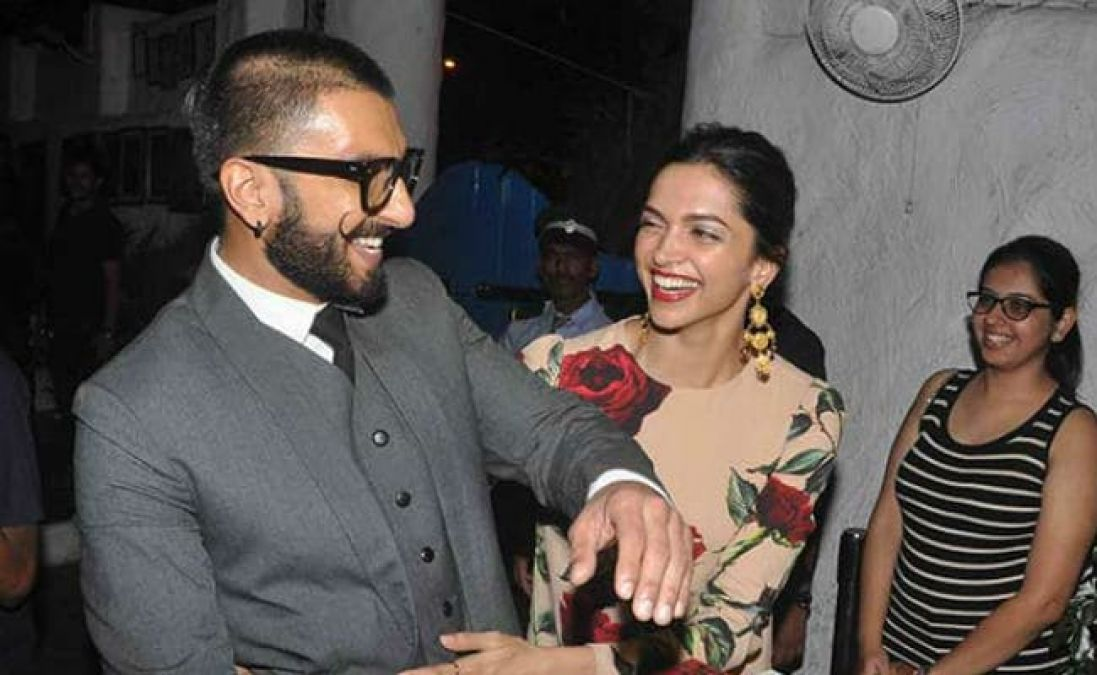 Ranveer was not knowing that Deepika will be his on-screen wife in 83!