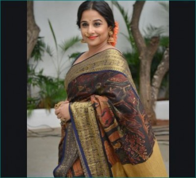 This saree of Vidya Balan is going to be auctioned, Here's how to buy it