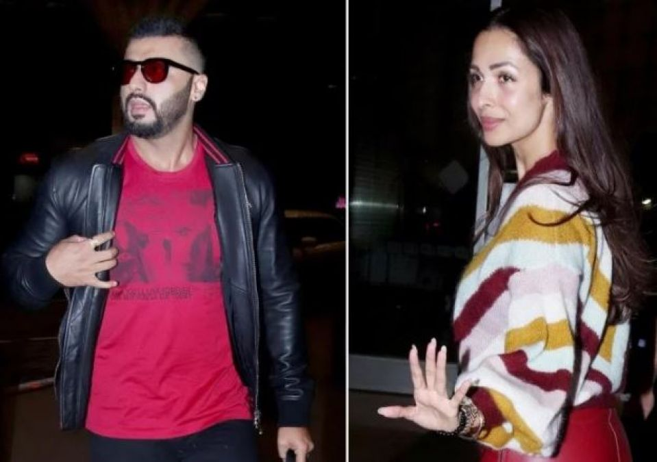 Pic Talk: Arjun Kapoor smiles for Malaika Arora, Her comment is winning the internet