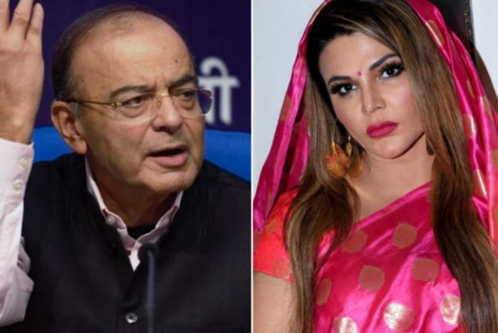 The bad news about Arun Jaitley came up, Rakhi Sawant wrote 'RIP' along with the photo of ex-finance Minister!