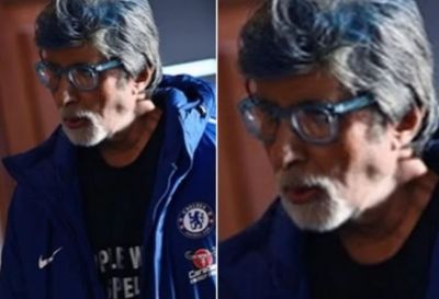 Big B is seen painted in colour after a long time, you will not be able to remove your eyes from the picture!