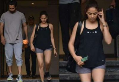 Shahid-Mira were seen leaving the gym together; viral photo!