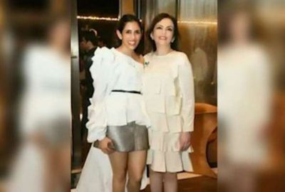 Ambani family's daughter-in-law wore a short dress, with mother-in-law Neeta