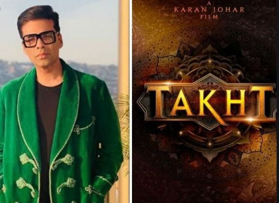 Karan Johar Shares 'The Star Cast Of Takht' And the Characters, Watch Video!