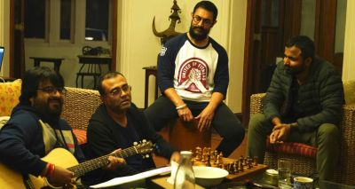 Aamir starts Work on Music for 'Lal Singh Chaddha'!