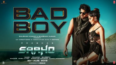 Saaho new song Bad Boy out. Check out the glimpse of Prabhas & Jacqueline Fernandez