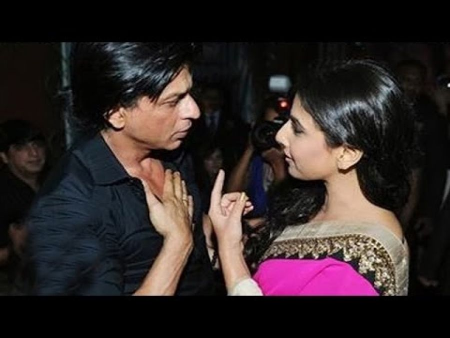 When Vidya Balan met Shah Rukh for the first time, she said,