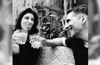Akshay Completes Wife Twinkle's Challenge in This Special Style, See Beautiful Photos!