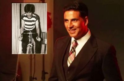Akshay Kumar Shares his Childhood Picture, Here's the Purpose!