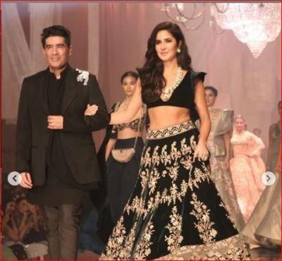 Katrina Kaif, who turned showstopper for Manish Malhotra, photos going viral!