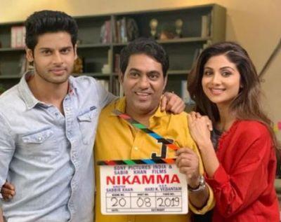 Shilpa Shetty starts Shooting 'Nikamma', Shares Photo!