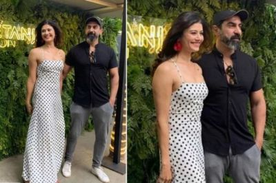 Pooja Batra, who was seen extremely romantic with her husband was spotted at this special event!