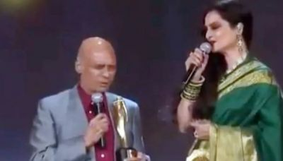 VIDEO: When Rekha sang this song in front of Khayyam, the whole hall woke up with applause!