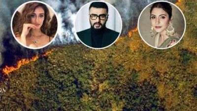 Massive fire gets caught in Amazon forests, see what Bollywood stars say!