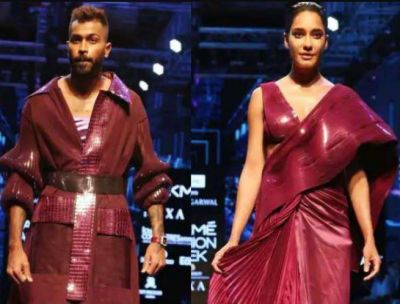 LFW 2019: Hardik Pandya along With Pregnant Lisa Hayden did a Ramp Walk, See Their Beautiful Style!