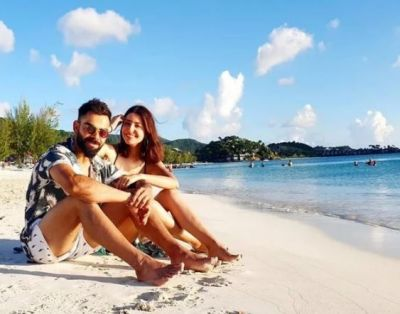 Anushka Sharma And Virat Kohli's Beach Date Is All About Sunshine And Smiles