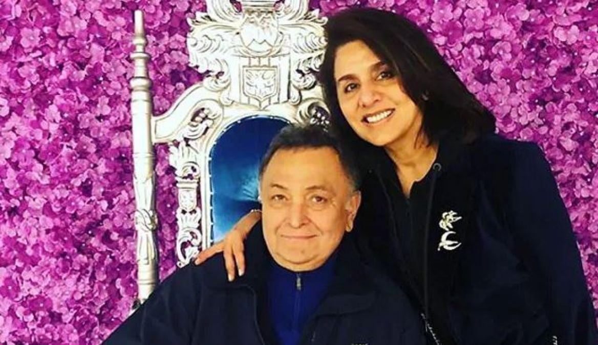 Neetu Kapoor termed her Husband Rishi Kapoor as 'Baby', Actor Speaks - 'Rock'
