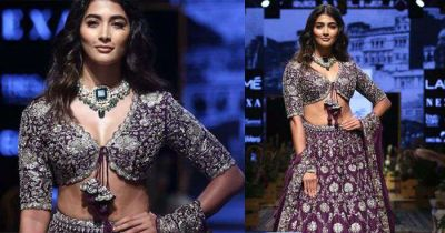 LFW 2019: Now Pooja Hegde wreaked havoc, see her hot look!