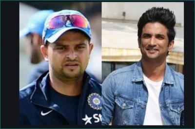 Cricketer Suresh Raina remembers Sushant, shared video