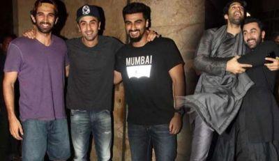Arjun Kapoor spotted at Ranbir Kapoor residence in midnight
