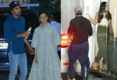 Mission Mangal Screening: Alia-Ranbir under one roof, Varun also arrived with girlfriend