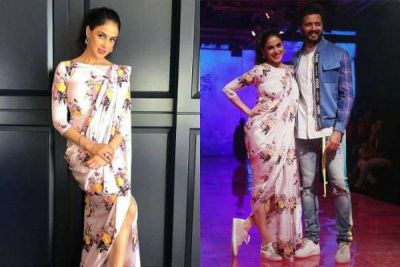LFW 2019: Genelia's ramp walk with husband Riteish, won hearts in sneakers