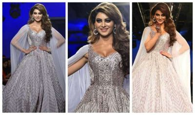 LFW: Urvashi Rautela came down like a fairy, killer style will blow your senses