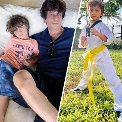 Shahrukh's Pampered kid Abram is learning Taekwondo, King Khan Shared a picture