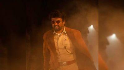 Darbar: Rajinikanth's fierce look leaked, his tremendous style seen in Khaki!