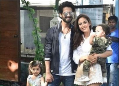 Shahid-Mira's Daughter's Birthday, AbRam Arrived Without Dad Shah Rukh