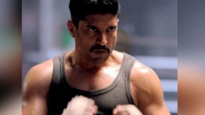 Farhan is all set to fight 'Toofan', the first photo from set went viral