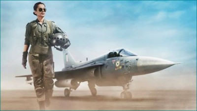 Kangana's Tejas to take-off this December, check out poster here