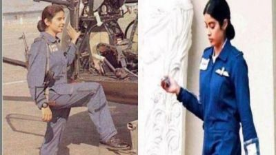 Janhavi Kapoor's First Look from Gunjan Saxena's Biopic is Out; see here!