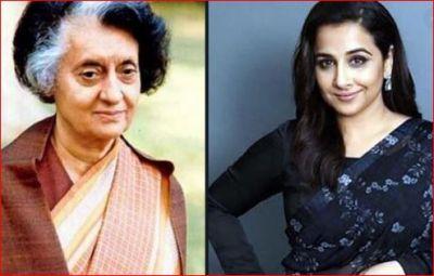इस ख़ास वजह से इंदिरा गांधी की बायोपिक में काम कर रहीं हैं विद्या बालन