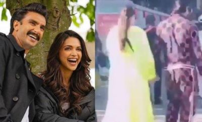 So is Deepika hiding her baby bump from loose clothes, see the viral video!