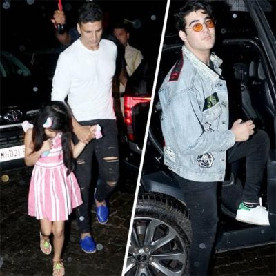 Akshay Kumar's family photos are in discussion, 'Khiladi' seen on a dinner date with son-daughter and wife!