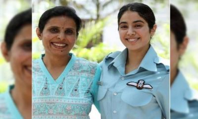 Birthday of real Kargil girl Gunjan Saxena, Jahnavi shared an emotional post