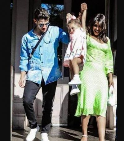 Nick-Priyanka is seen having fun with Kevin's daughter, check out pic here