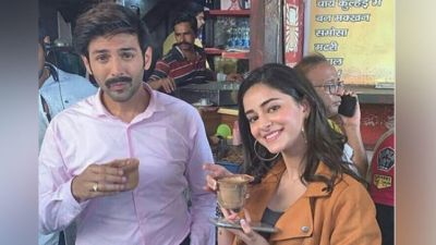Leaving Shooting, Karthik and Ananya arrived to drink Kulhad tea; see pictures!
