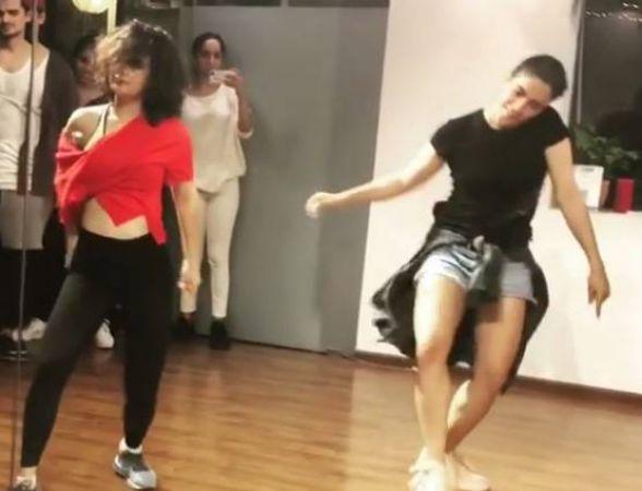 जमकर वायरल हो रहा है 'दंगल गर्ल्स' का डांस वीडियो