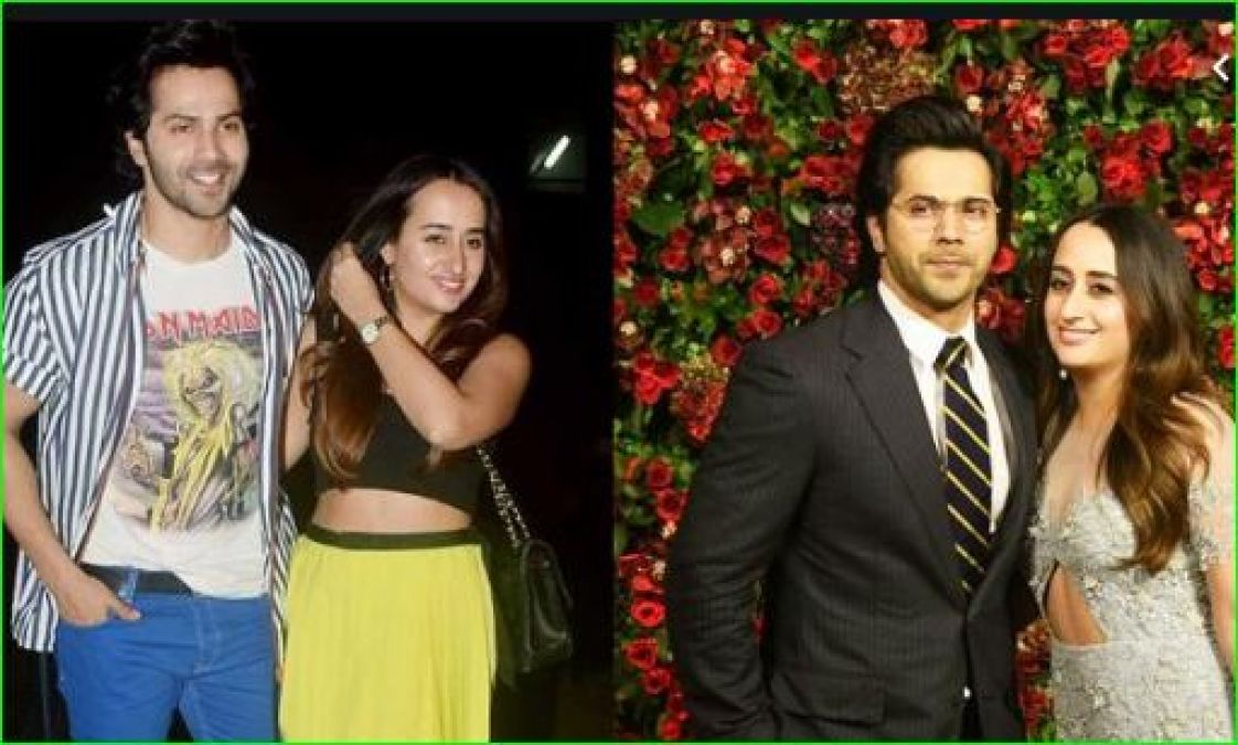 This picture of Varun Dhawan with girlfriend Natasha is going viral
