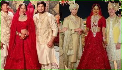 Babita Phogat copied Priyanka's wedding dress and stole the wedding date!