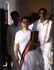 Kangana Ranaut reveals new pictures from the set of Thalaivi