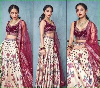 Nushrat Bharucha looks stunning in traditional attire, see pictures