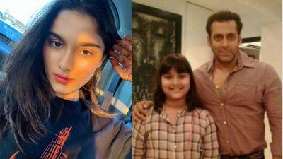 Saiee Manjrekar's childhood photo with Salman Khan goes viral