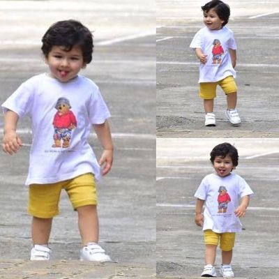 Taimur Ali Khan and Inaaya's cute pictures on swings go viral