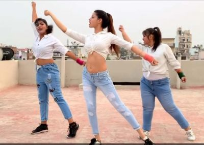 These girls dance on song 'Yaad Piya Ki Aane Lagi', Watch video here