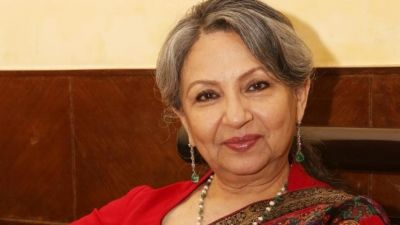 When Sharmila Tagor's photo posters removed overnight
